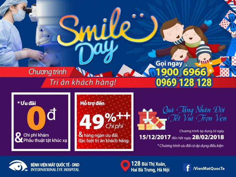 Bệnh Viện Mắt Quốc Tế DND-SMILES DAY 2018